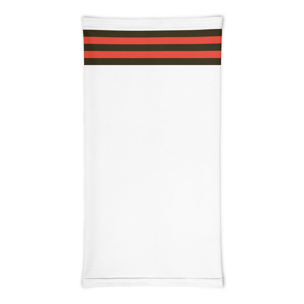 Load image into Gallery viewer, Cleveland Browns Style Neck Gaiter Tube Flat Front