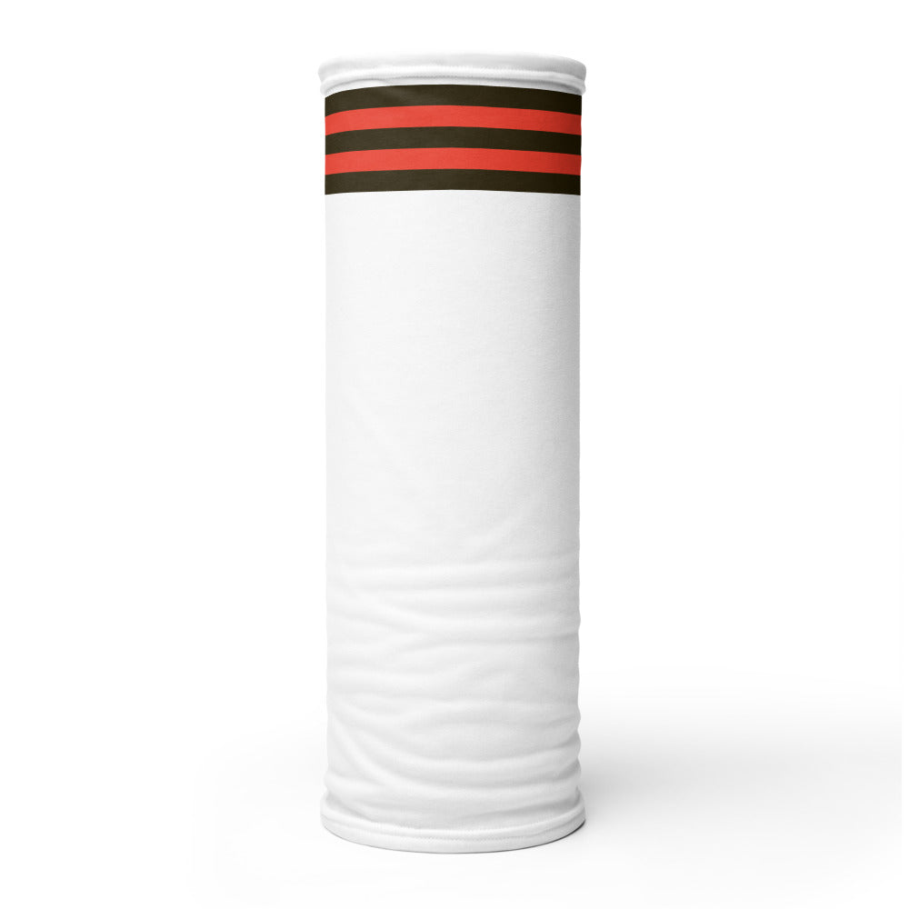 Cleveland Browns Style Neck Gaiter Tube