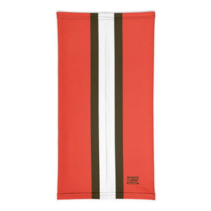 Cleveland Browns Style Neck Gaiter Tube Flat Back