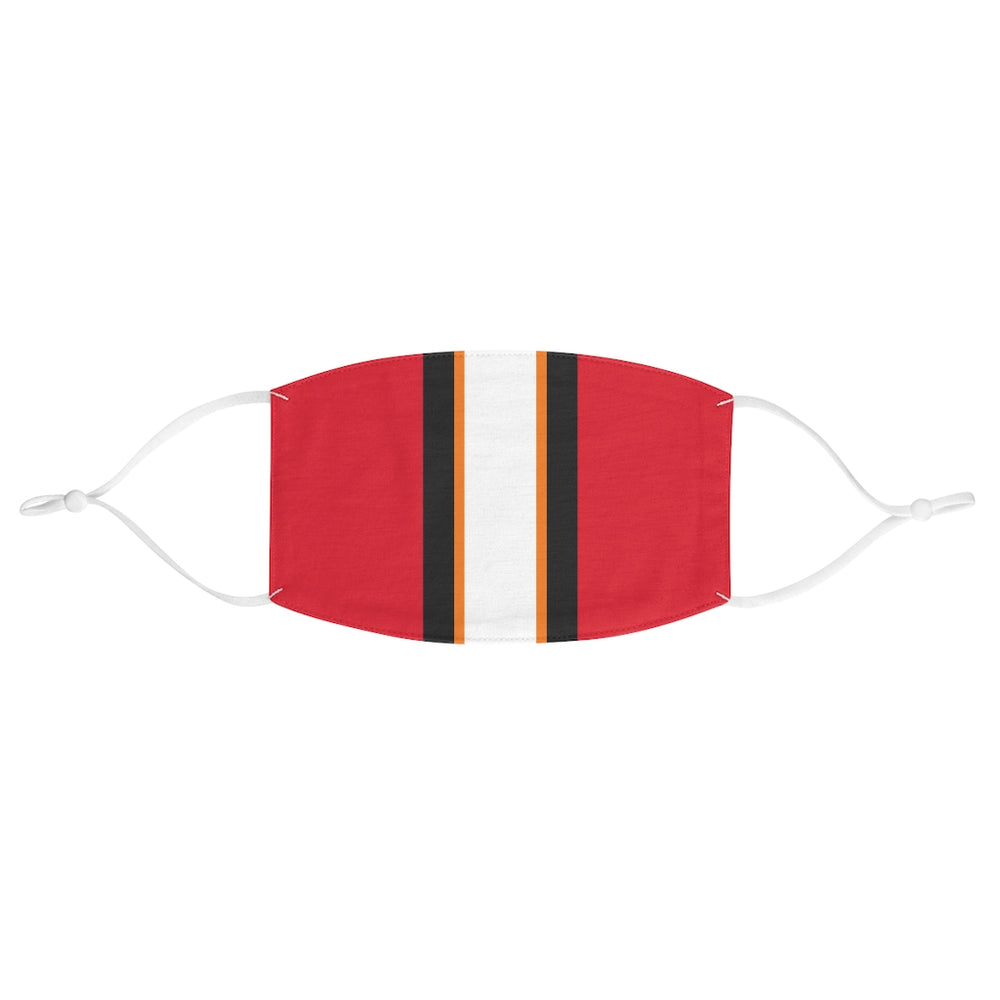 Tampa Bay Football Home Stripe Face Mask