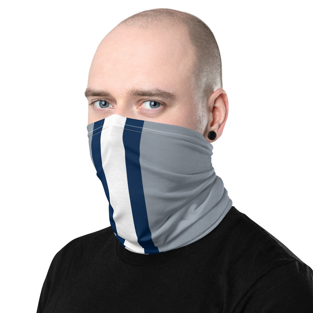 Load image into Gallery viewer, Dallas Cowboys Style Neck Gaiter Tube as Face Mask on Man Left