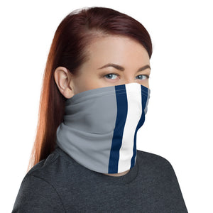 Load image into Gallery viewer, Dallas Cowboys Style Neck Gaiter Tube as Face Mask on Woman Right