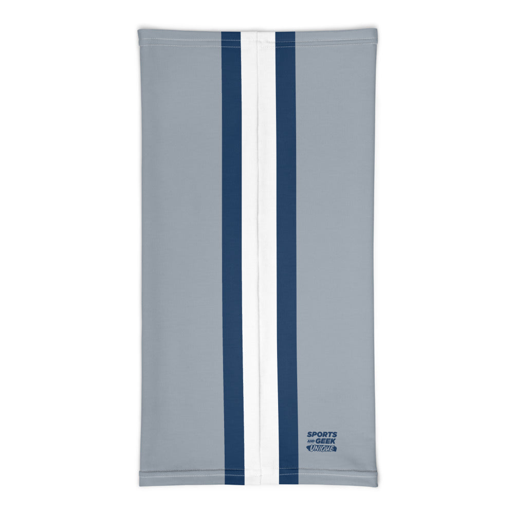 Dallas Cowboys Style Neck Gaiter Tube Flat Back
