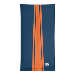 Denver Broncos Style Neck Gaiter Tube Flat Back