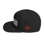 Black I Love You 3000 Classic Snapback Hat Side View