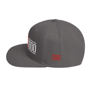 Load image into Gallery viewer, Dark Grey I Love You 3000 Classic Snapback Hat Side