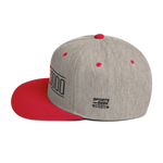 Heather and Red I Love You 3000 Classic Snapback Hat Side