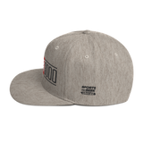 Heather Grey I Love You 3000 Classic Snapback Hat Side