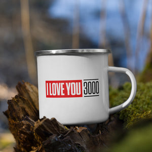 Load image into Gallery viewer, I Love You 3000 Enamel Mug