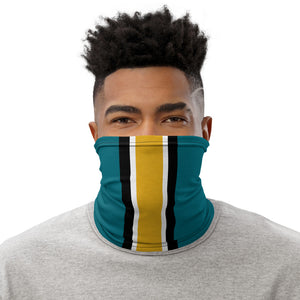 Load image into Gallery viewer, Jacksonville Jaguars Style Neck Gaiter as Face Mask on Man