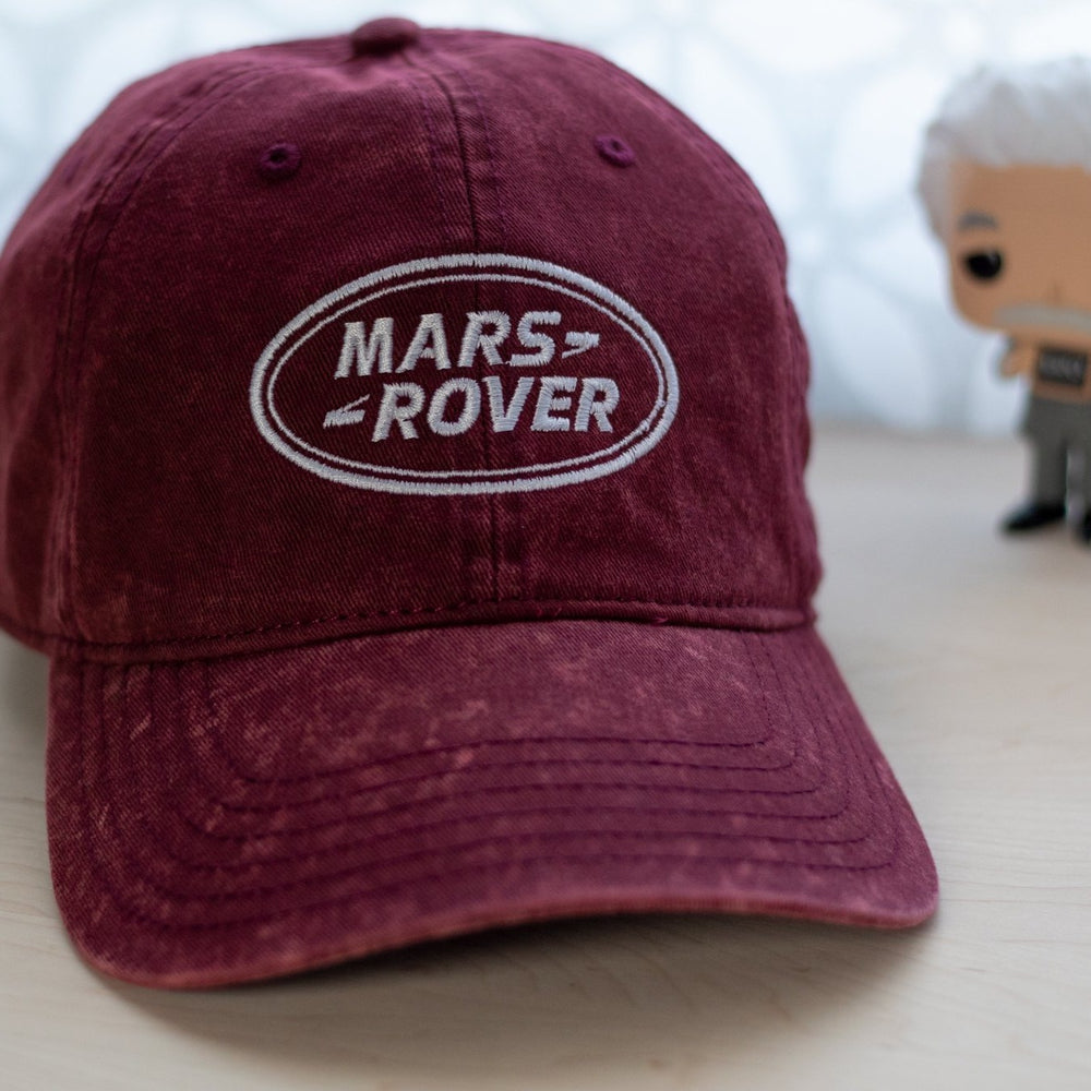Mars Rover Hat Vintage Dad Hat Red with Einstein Funko Pop