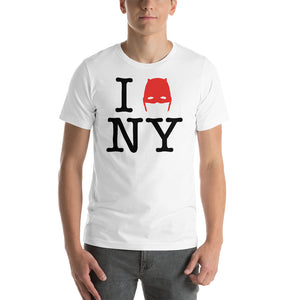 Load image into Gallery viewer, Devil of Hell's Kitchen I Love New York Daredevil White T-Shirt