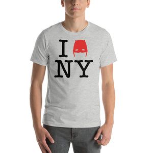 Devil of Hell's Kitchen I Love New York Daredevil Athletic Heather T-Shirt