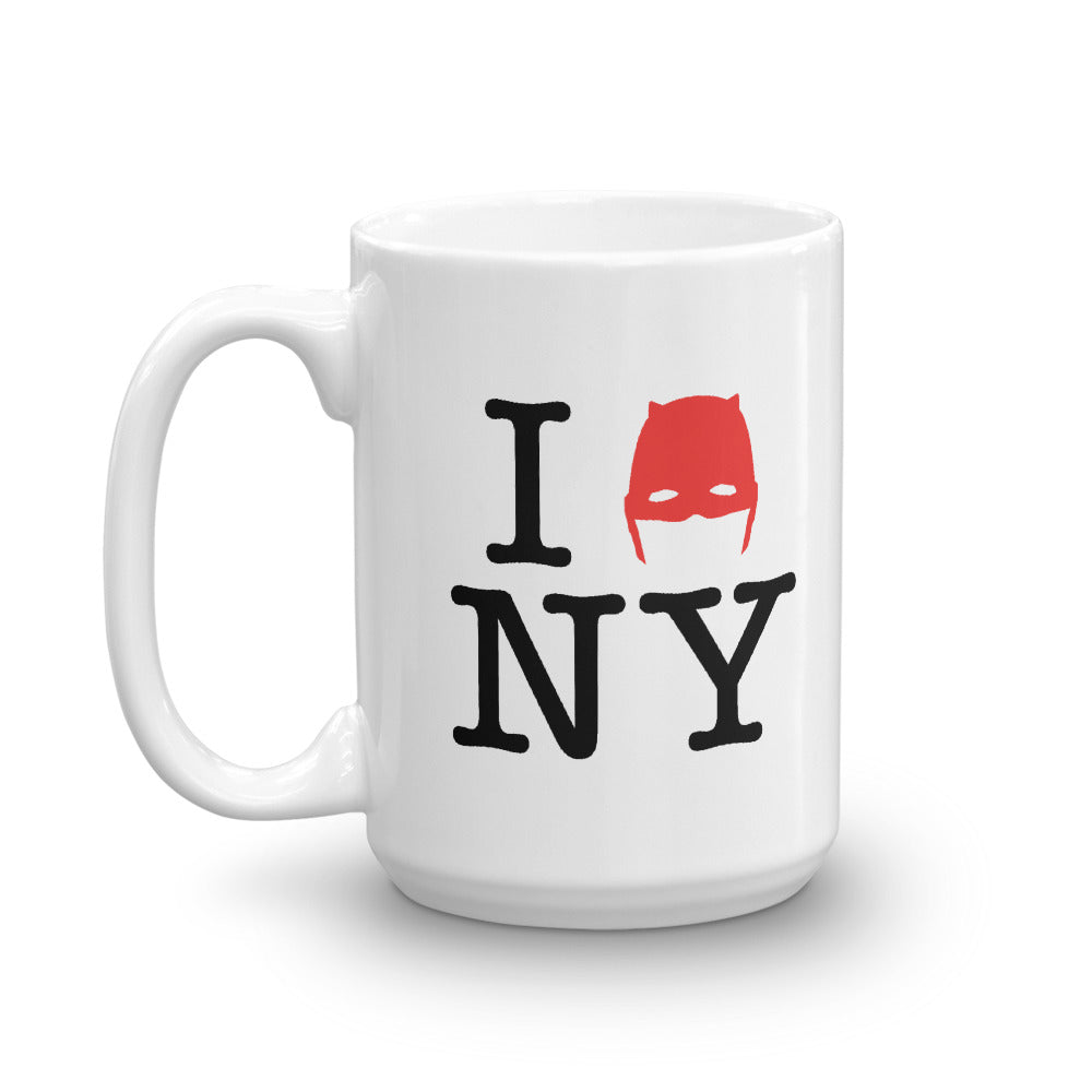 15oz Devil of Hell's Kitchen I Love New York Daredevil Mug