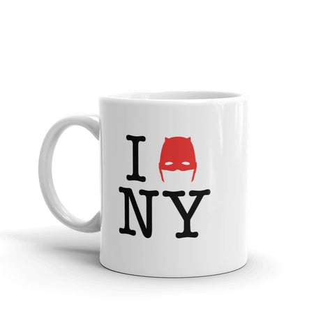 Devil of Hell's Kitchen New York Love Mug