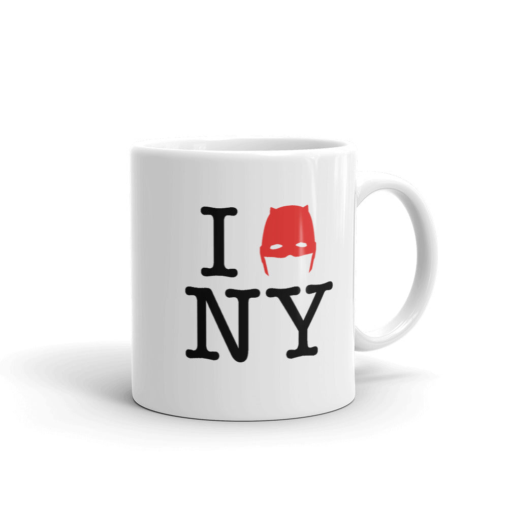11oz Devil of Hell's Kitchen I Love New York Daredevil Mug Side Product Shot
