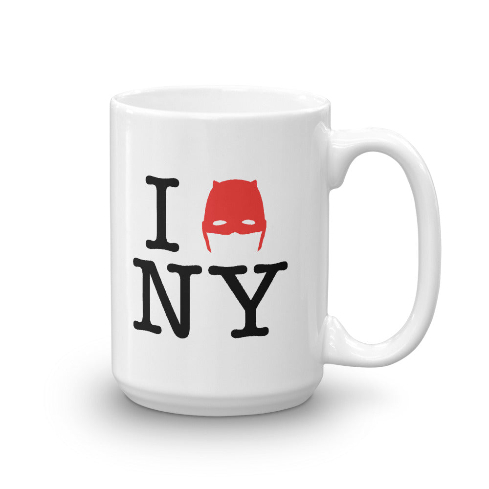 15oz Devil of Hell's Kitchen I Love New York Daredevil Mug Side Product Shot