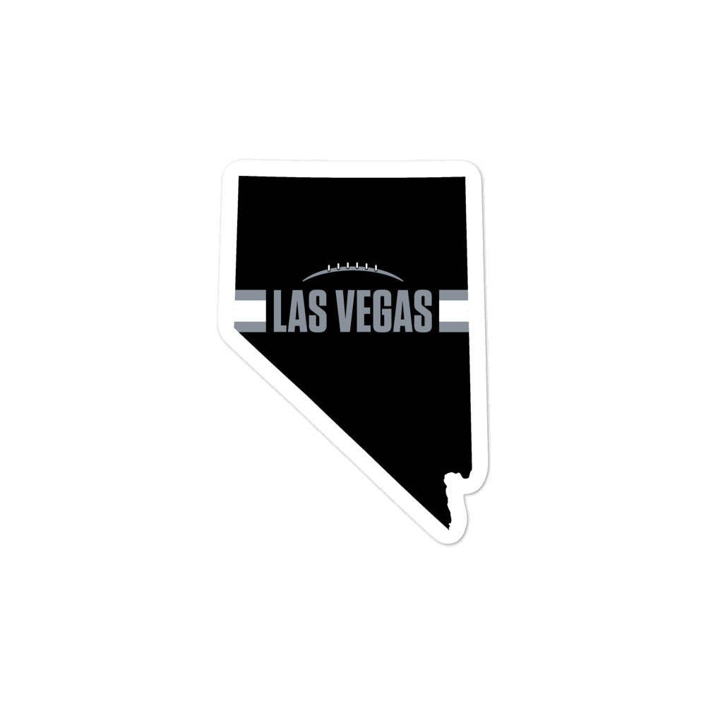 Load image into Gallery viewer, Las Vegas Football Nevada Outline (Black Design)