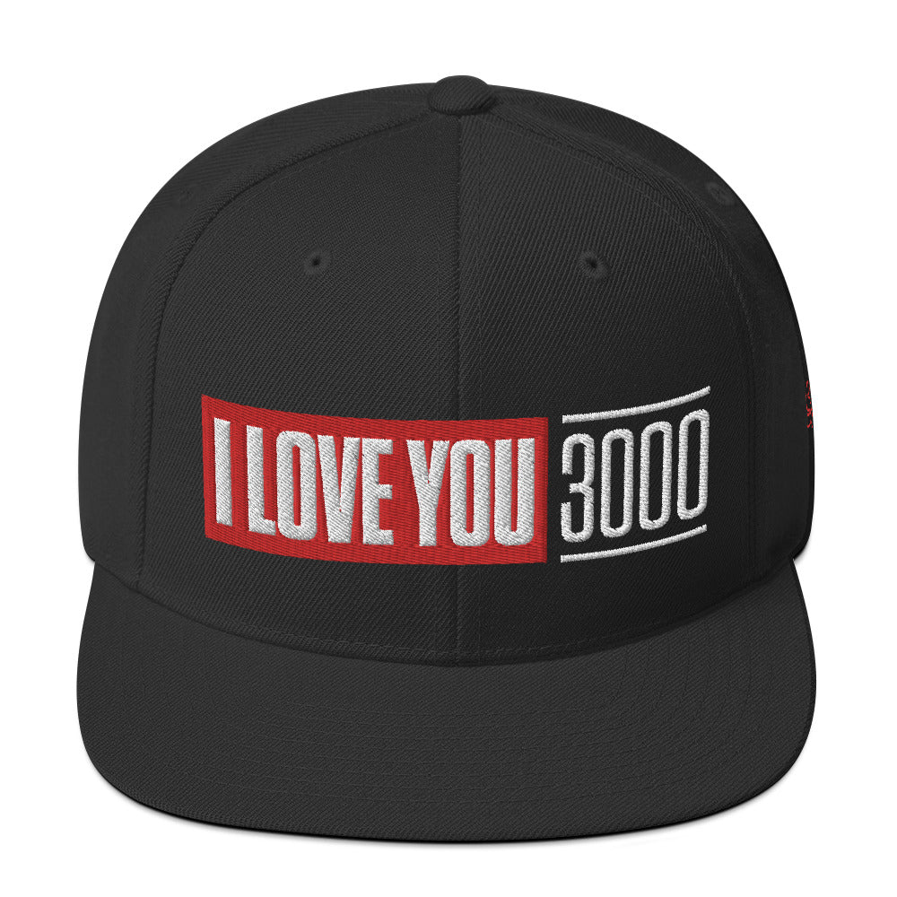Load image into Gallery viewer, I Love You 3000 Snapback Hat