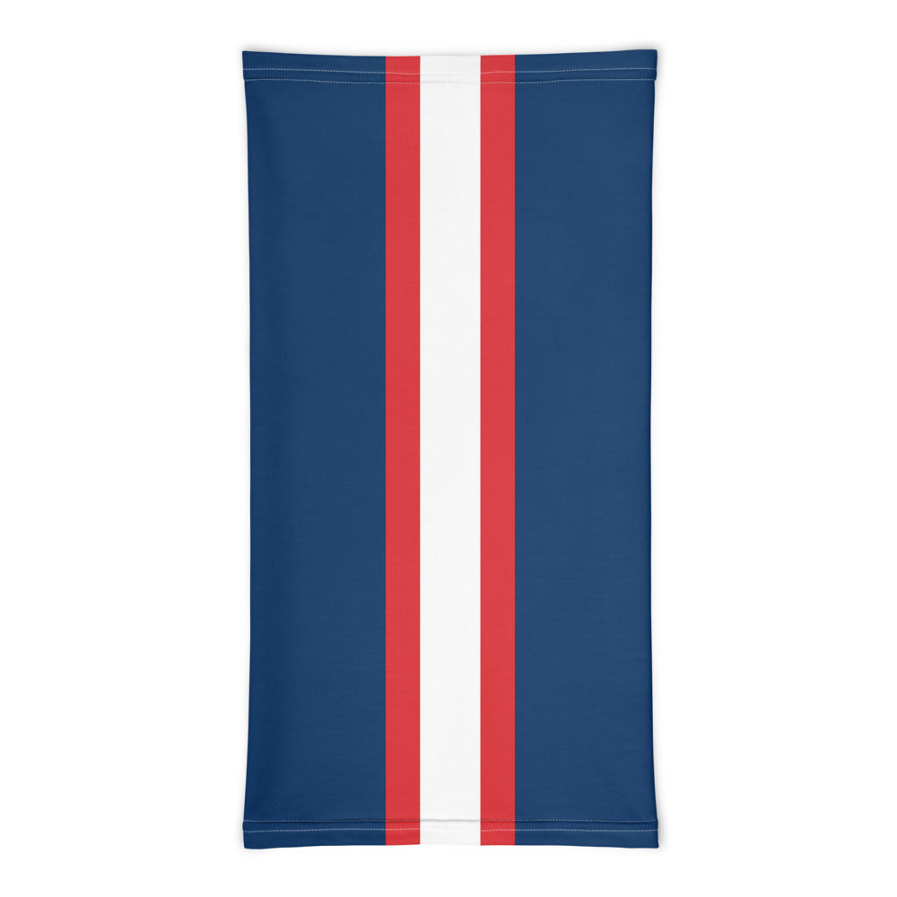 New England Patriots Style Neck Gaiter Tube Flat Front