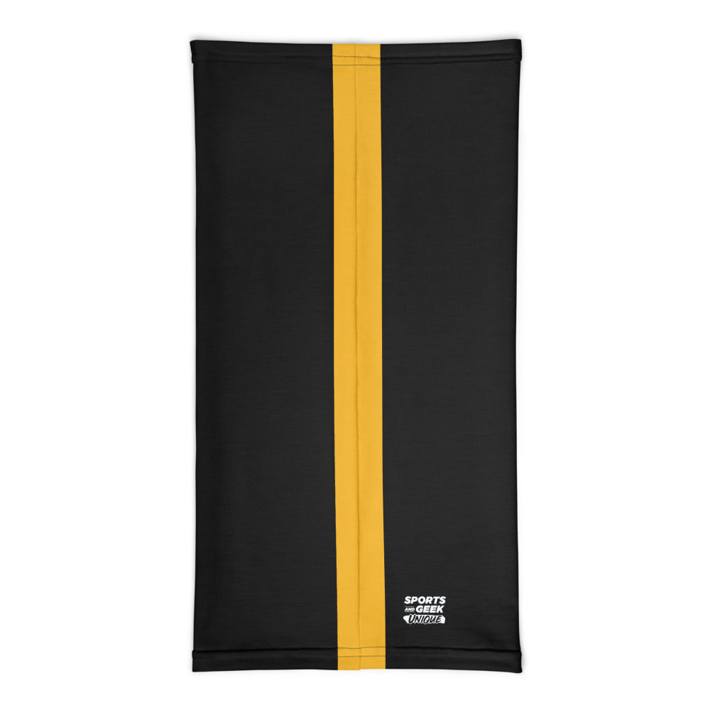 Pittsburgh Steelers Style Neck Gaiter Tube Flat Back