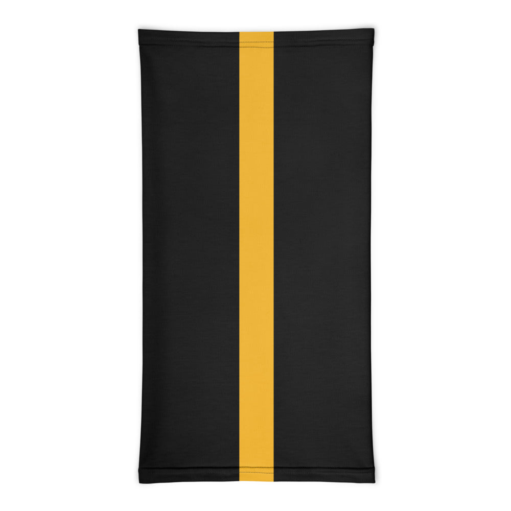 Pittsburgh Steelers Style Neck Gaiter Tube Flat Front