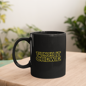 Punch It Chewie Mug on Coffee Table
