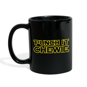 Load image into Gallery viewer, Punch It Chewie Mug Left