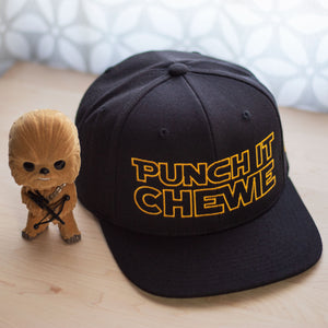 Load image into Gallery viewer, Punch It Chewie Star Wars Hat Front Chewbacca Pop