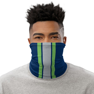 Load image into Gallery viewer, Seattle Seahawks Style Neck Gaiter as Face Mask on Man
