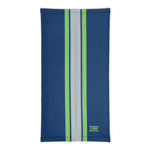 Load image into Gallery viewer, Seattle Seahawks Style Neck Gaiter Tube Flat Back
