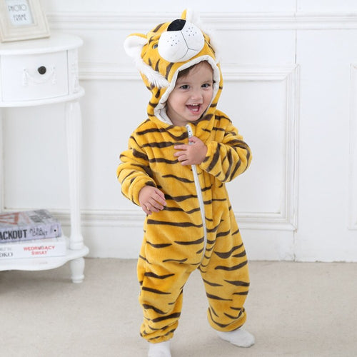 Animal Baby Onesie In baby clothes
