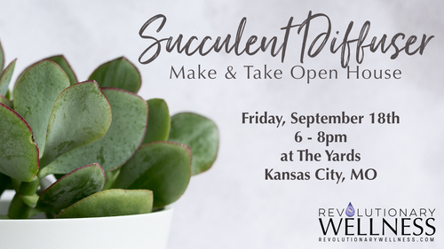 Register Yourself & Learn Own Succulent Diffuse Make-n-take Open House