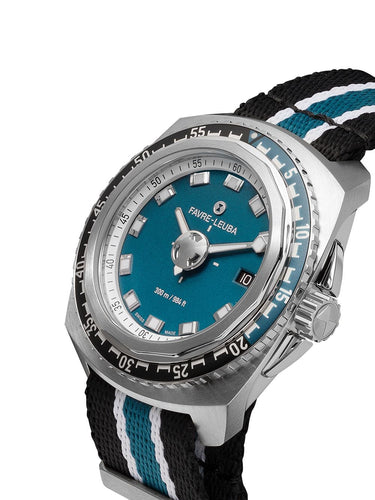 Deep Blue with Blue + Black Strap