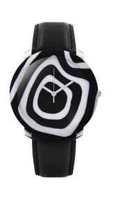 ZEBRA  ladies quartz Swiss watch 44mm glass case