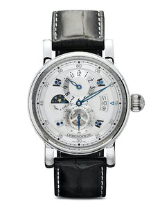 Flying Regulator Night and Day - Silver