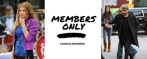 Members Only x Celebs