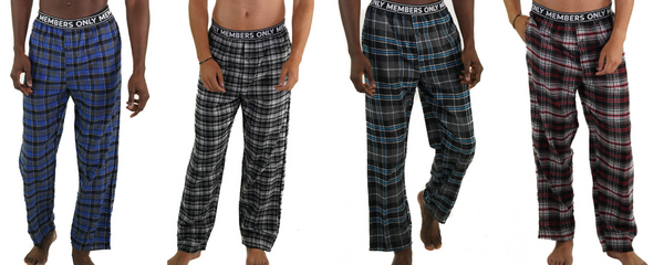 members only classic flannel sleep pants