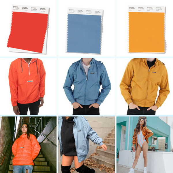 Spring Summer Colors Members Only Jackets