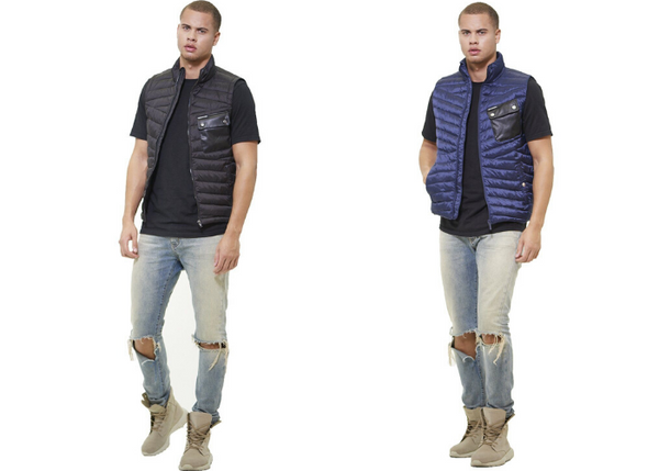 MEMBERS ONLY PUFFER VEST JACKET