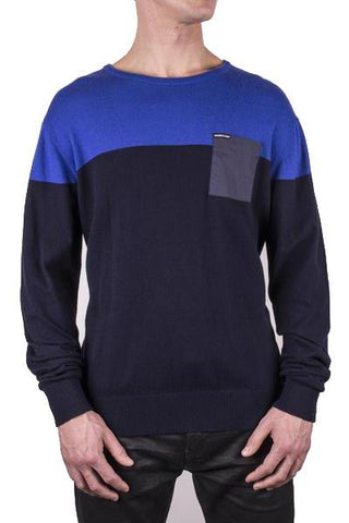 Color Block Pullover Sweater - Members Only® Official