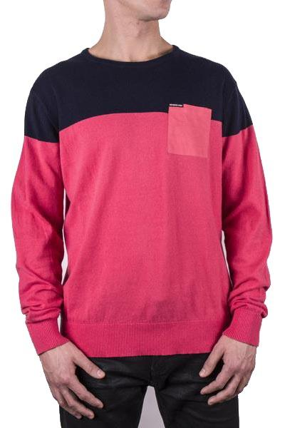 Color Block Pullover Sweater - Members Only Official