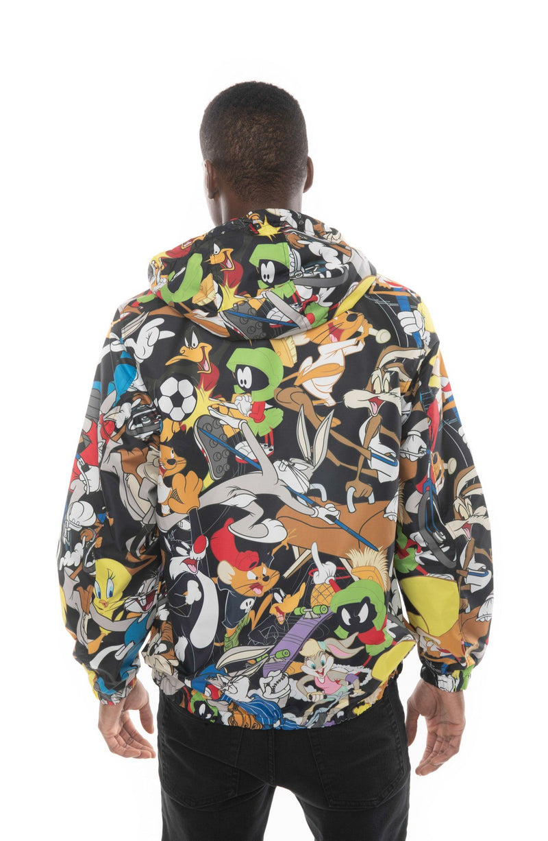 Looney Tunes Windbreaker Jacket for Men