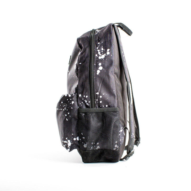 Clearance - Splatter Print Backpack- Black