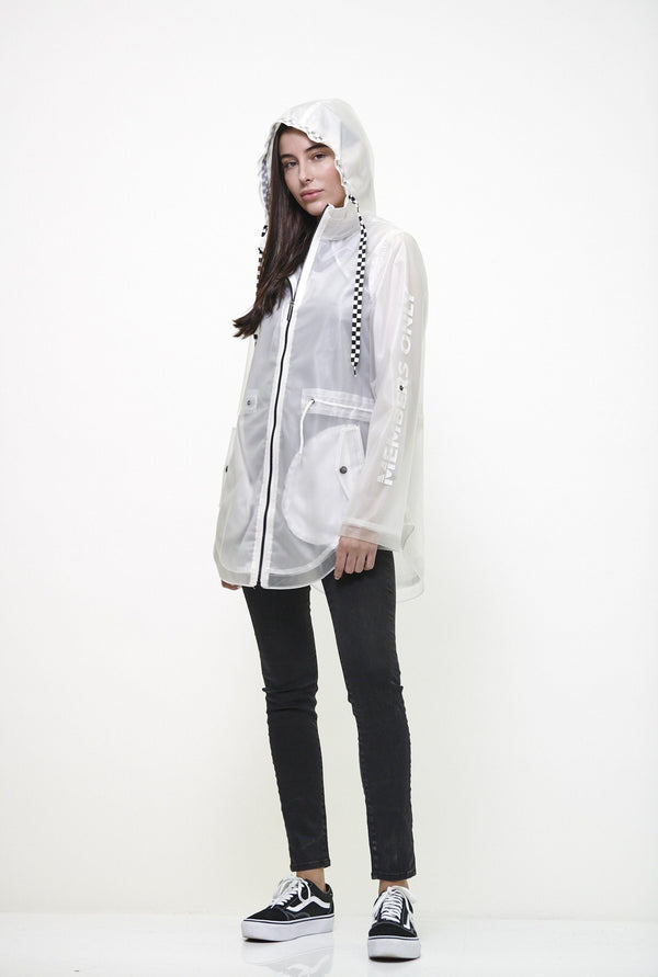 Women's Translucent Long Jacket