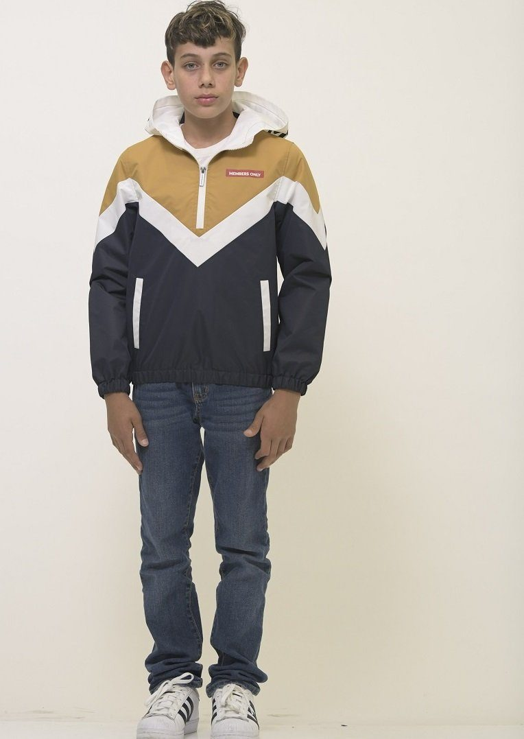 Clearance - Boy's Color Block Hoodie Jacket