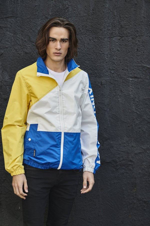Men's Nautical Color Block Jacket for Men
