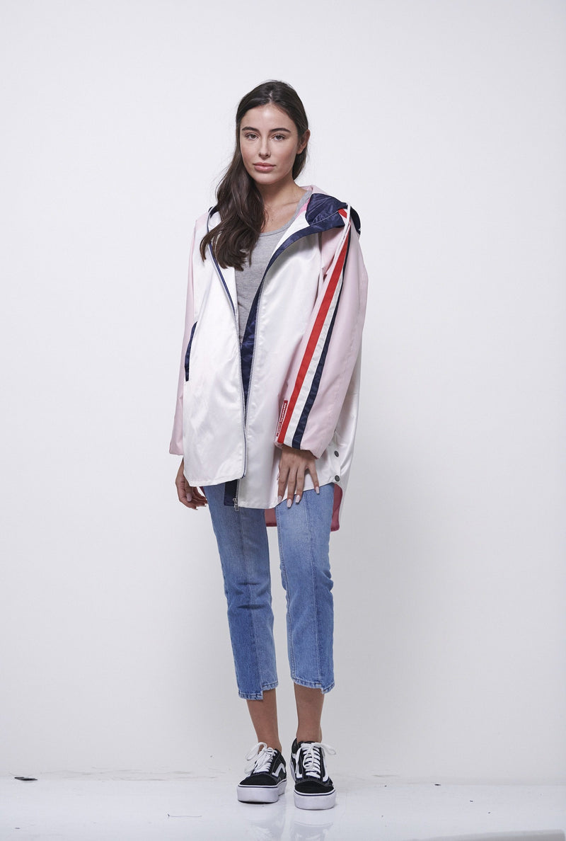 Women's Long Satin Twill Jacket
