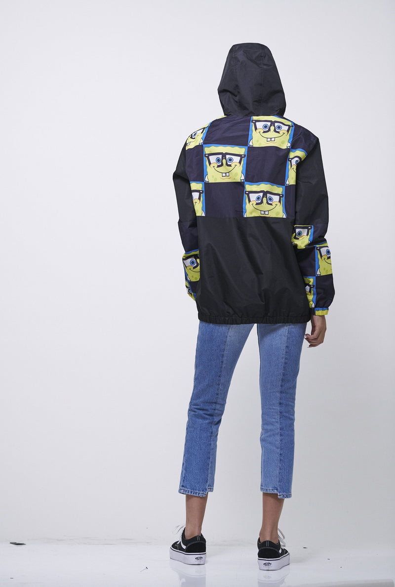 Men's Nickelodeon Sponge Bob Pullover Jacket for Women