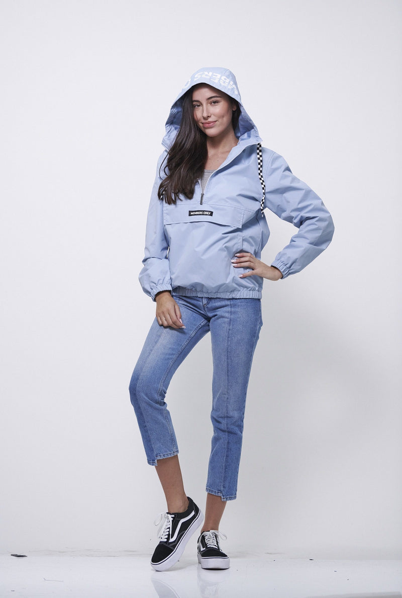 Buy Women  Poly Taslon Pullover Jacket with hood